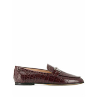 Tod's Mocassim Double T - Roxo