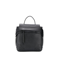 Tod's Wave Backpack - Preto