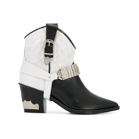 Toga Ankle Boot Cowboy - Preto