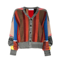 Toga Striped Cardigan - Estampado