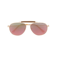 Tom Ford Eyewear Óculos De Sol Degradê - Metálico