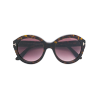 Tom Ford Eyewear Óculos De Sol 'kelly' - Marrom