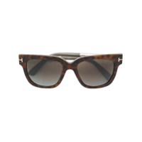 Tom Ford Eyewear Óculos De Sol 'tracy' - Marrom
