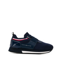 Tommy Hilfiger Lace-Up Sneakers - Azul
