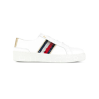Tommy Hilfiger Sequin Detail Lace-Up Sneakers - Branco