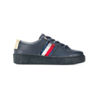 Tommy Hilfiger Sequin Detail Sneakers - Azul