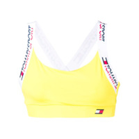 Tommy Hilfiger Sports Cropped Top - Amarelo