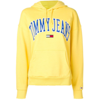 Tommy Jeans Logo Hoodie - Amarelo