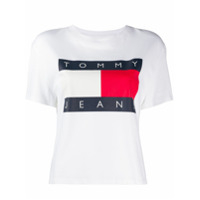 Tommy Jeans Printed Logo T-Shirt - Branco