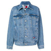 Tommy Jeans Short Denim Jacket - Azul