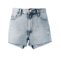 Tommy Jeans Short Jeans Destroyed - Azul