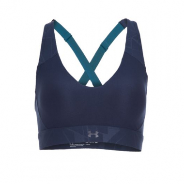 Top Balance Mid Emboss Under Armour - Azul