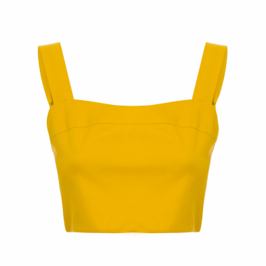 Top Cropped Acrobat - Amarelo
