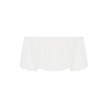 Top Cropped Ciganinha Market 33 - Off White