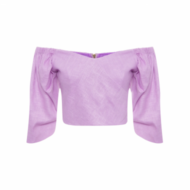 TOP CROPPED FEMININO CARRIE - LILÁS