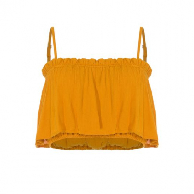 Top Francesca Prayah - Amarelo