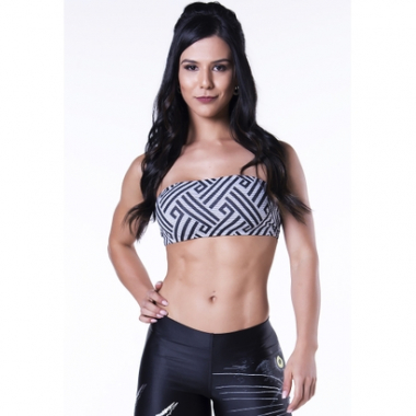 Top Lipsoul Active Geometric-Feminino