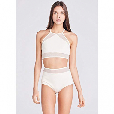 Top Mari Calcinha Hot Pant Off White-P
