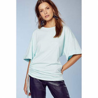 Top Mary Azul Glacial - P