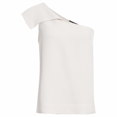 Blusa Ombro Único Animale - Bege