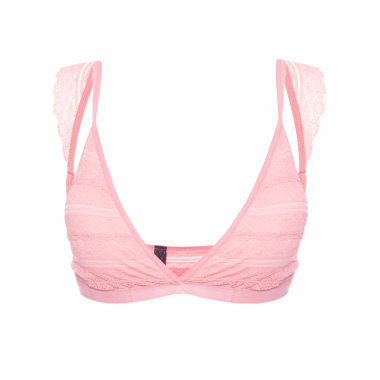 Top Renda Frida - Rosa