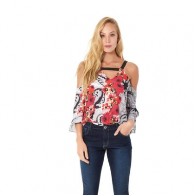 Top Silky Crepe New Pasley - 42