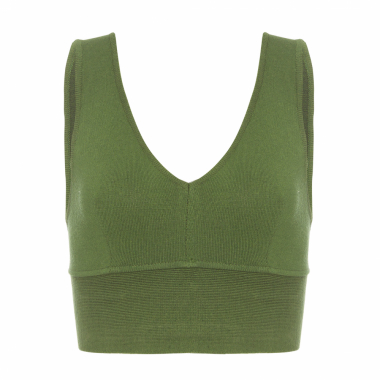 Top Tricot Basic - Verde