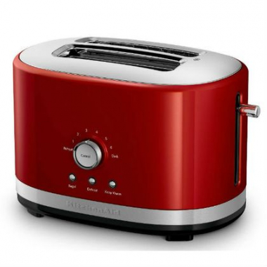 Torradeira Manual Kitchenaid Artisan 2 Fatias Empire Red - Kjc42Av 110V
