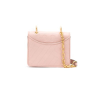 Tory Burch Bolsa De Couro Description Alexa Mini Shoulder - Rosa