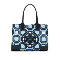 Tory Burch Bolsa Tote 'ella' Mini Estampada - Azul