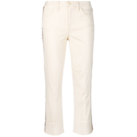 Tory Burch Calça Jeans Cropped - Neutro