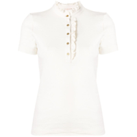 Tory Burch Camisa Polo 'emily' - Neutro