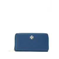Tory Burch Carteira Mercer Zip Continental - Azul