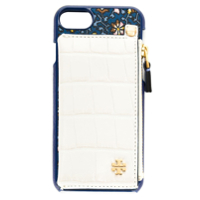 Tory Burch Case Iphone 8 Com Bolso - Azul