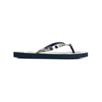 Tory Burch Chinelo Estampado - Azul
