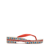Tory Burch Chinelo Com Vazados - Estampado