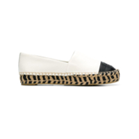 Tory Burch Espadrille Color Block - Branco