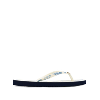 Tory Burch Chinelo Estampado - Branco