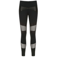 Track & Field Calça Legging 'graphic' - Preto