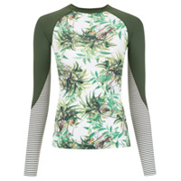 Track & Field Camiseta Surf 'frutos' - Verde