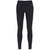 Track & Field Legging 'action' Com Recortes - Preto