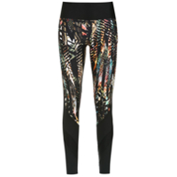 Track & Field Legging 'savana' Estampada - Preto