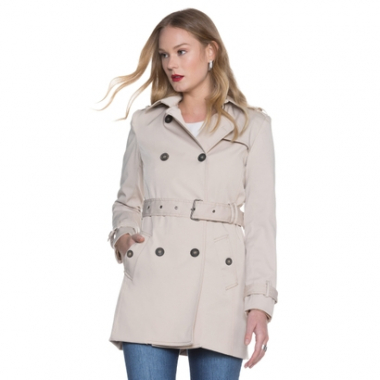 Trench Amaro Coat London Breeze-Feminino