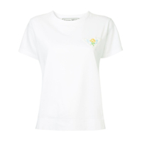 Tu Es Mon Trésor Dead Stock Race Patch T-Shirt - Branco