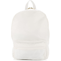 Tu Es Mon Trésor Tuck Ribbon Backpack - Branco