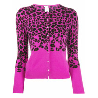 Ultràchic Cardigan Animal Print - Rosa