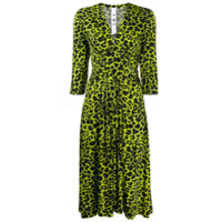 Ultràchic Vestido Animal Print - Verde