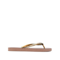 Uzurii Chinelo Colourful Classic - Marrom