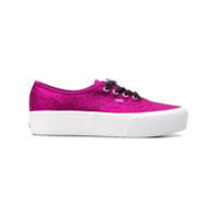 Vans Glitter Authentic Platform 2.0 Sneakers - Rosa