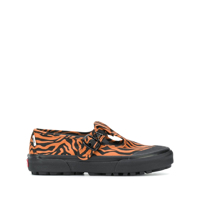 Vans Tênis Mary Jane Com Animal Print - Laranja